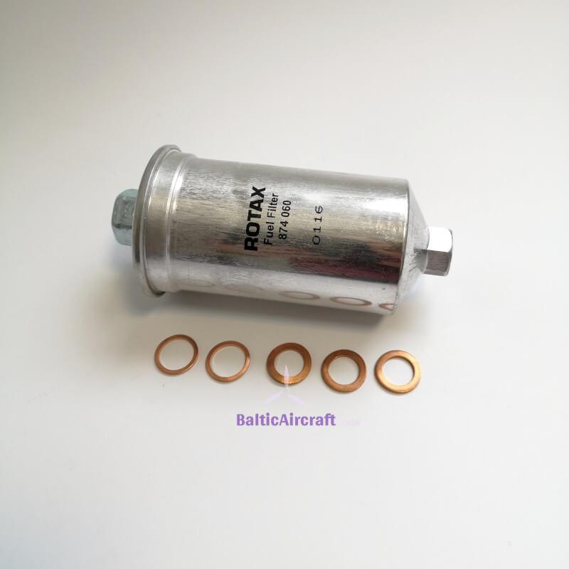 Benzino Filtras Rotax 912 IS varikliams