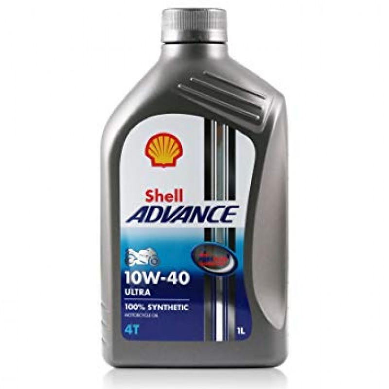 Shell Advance 4T Ultra 10W-40 alyva, 1l