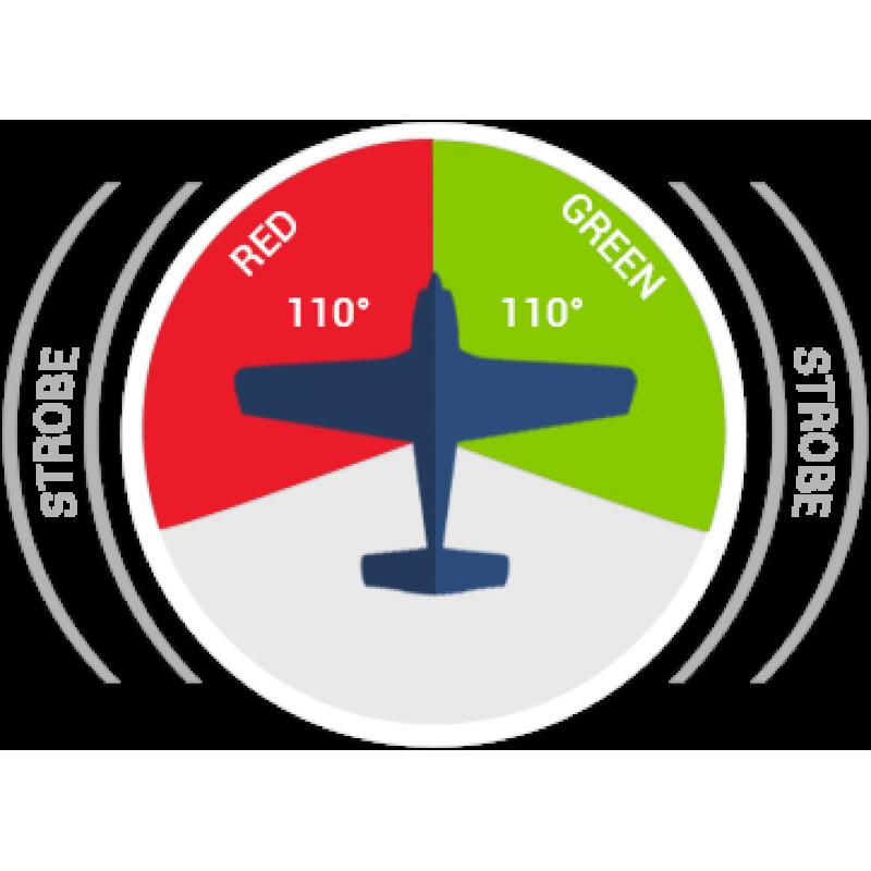 Navigator Ultra AvioLights žibintai, Wingtip LED lights (Navigation/Strobe)
